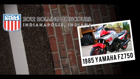 Cycle World Rolling Concours Entries: 1985 Yamaha FZ750