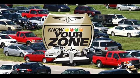 IMS Fans: Use 'Know Your Zone' Driving Routes, Parking For MotoGP