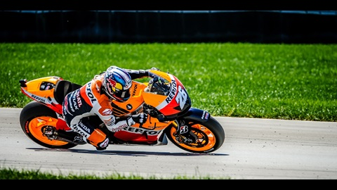 Pedrosa Breaks Track Record, Wins Red Bull Indianapolis GP Pole