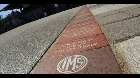 IMS Commemorative Brick Program now offers official Wing & Wheel logo