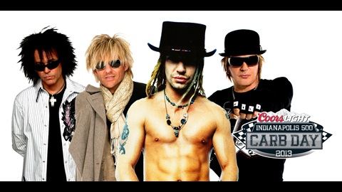 Poison To Headline Coors Light Carb Day Concert may 24 At IMS