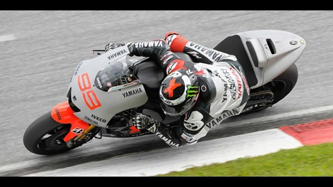 Lorenzo Sets Pace At Second MotoGP Test In Malaysia