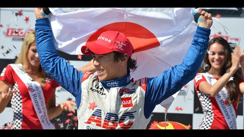 Sato Becomes First Driver From Japan To Win INDYCAR Race