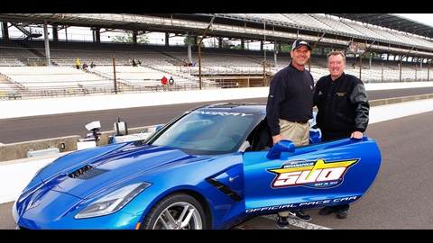 49ers Coach Harbaugh To Pace 97th Indy 500 In 2014 Corvette Stingray