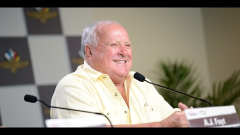 97th Indianapolis 500 Press Conference - A.J. Foyt, Larry Foyt