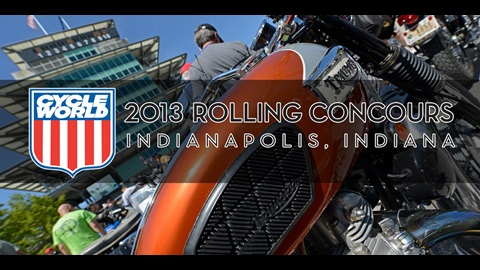2013 Cycle World Rolling Concours