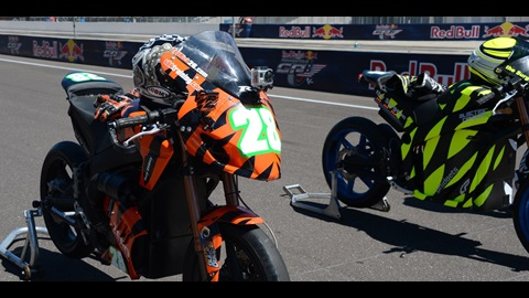 Electric Race Bikes To Put A Jolt Into Red Bull Indianapolis GP