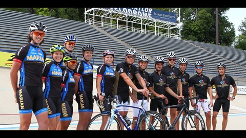 MotoGP Stars Enjoy Ride With College Cycling Powerhouse In Indy