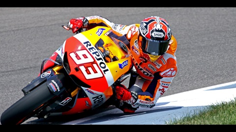 Marquez Breaks Track Record, Wins Red Bull Indianapolis GP Pole