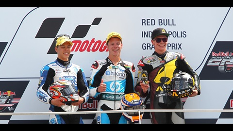 2013 Red Bull Indianapolis GP Moto2 Press Conference