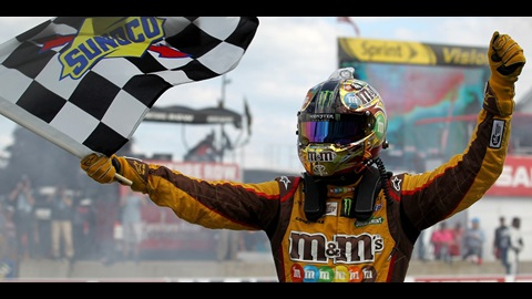 Kyle Busch Stays On Steady Course Toward Top Of Chase