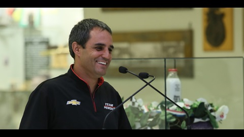 Team Penske, Second Shot At Indy 500 Energizes Montoya