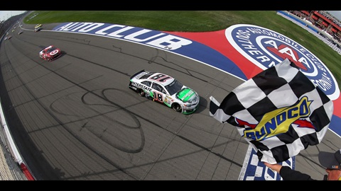 Kyle Busch Wins Thrilling Auto Club 400
