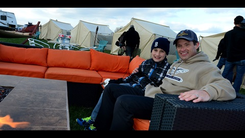 Rally Around The Campfire: 'Glamping' At IMS