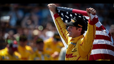 Hunter-Reay's Victory For Country, Team, Self