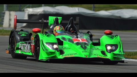 Sharp and Tagliani Take on IMS Road Course During Test