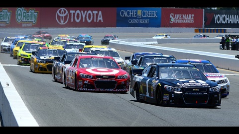 Edwards Claims First Road Course Win at Sonoma