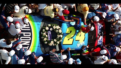 Celebrate Gordon's Win at the Inaugural Brickyard 400