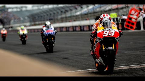 Marquez Continues Record Run at Red Bull Indianapolis GP