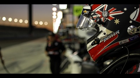 Power, Castroneves, Pagenaud Battle For Title in Fontana