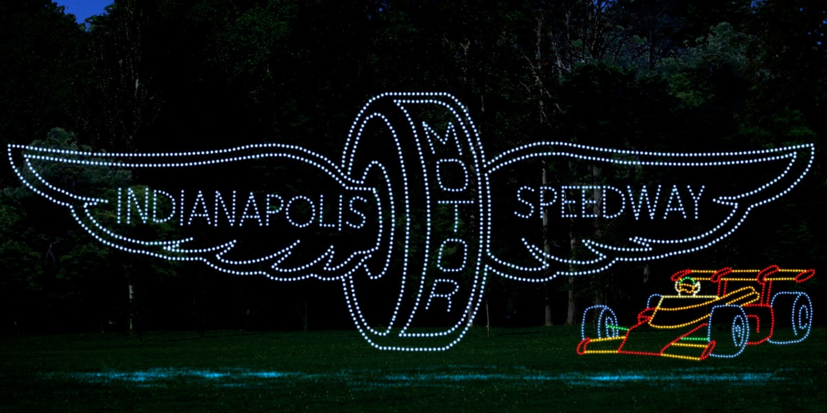 Image result for christmas lights at speedway