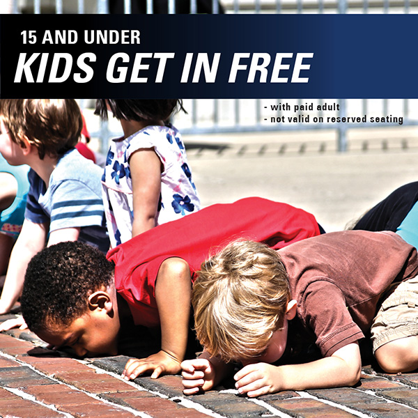 Kids 15 and Under Free