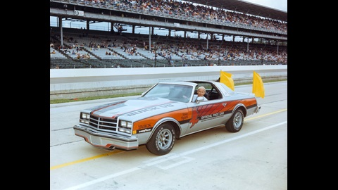 1976 Indianapolis 500 Pace Car, Buick, Chief Steward Tom Binford