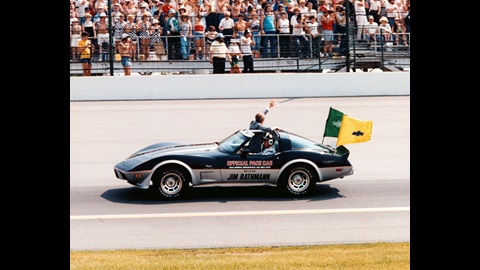 1978 Indianapolis 500 Chevrolet Corvette Pace Car driven by Jim Rathmann