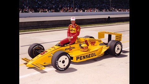 1988 Rick Mears Qualification photo