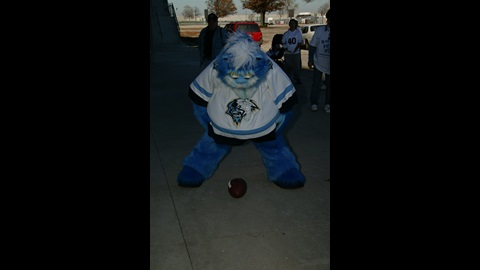 Indiana Ice hockey team mascot