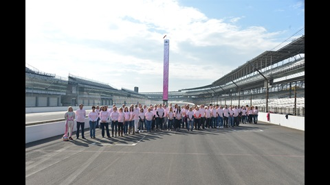 IMS and the Verizon IndyCar Series support Susan G. Komen in the fight against breast cancer