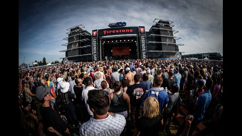 Firestone Legends Day Concert at the Indianapolis Motor Speedway