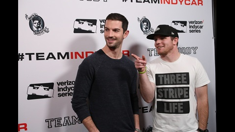 The Amazing Race #TeamINDYCAR representatives Alexander Rossi and Conor Daly